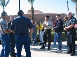 Media Relations Training Scene - For Police
