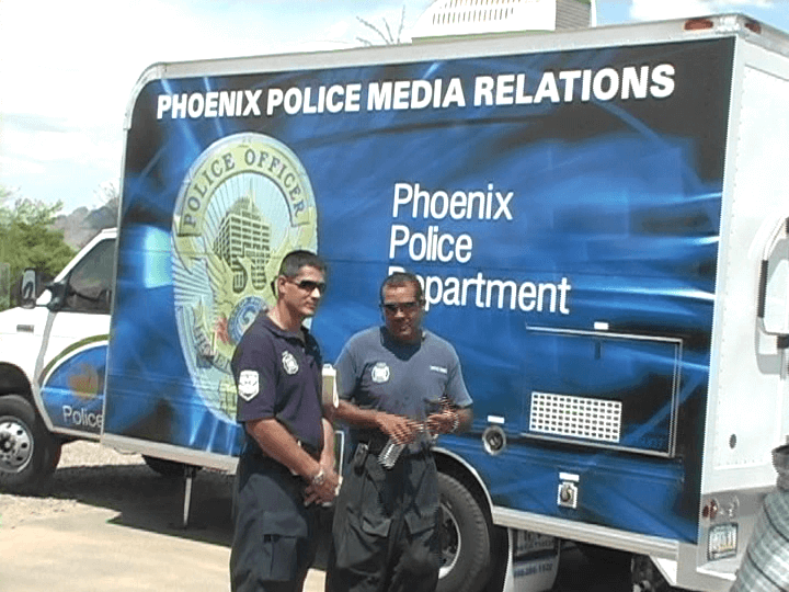 Phoenix Police Media Relations Mobile - PIO Boot Camp