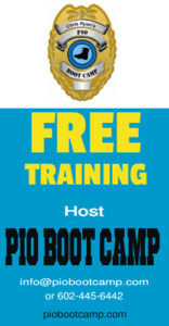 FREE PIO Boot Camp Hosting For Law Enforcement