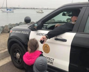 Police with kids - Police community relations - PIOBootCamp.com