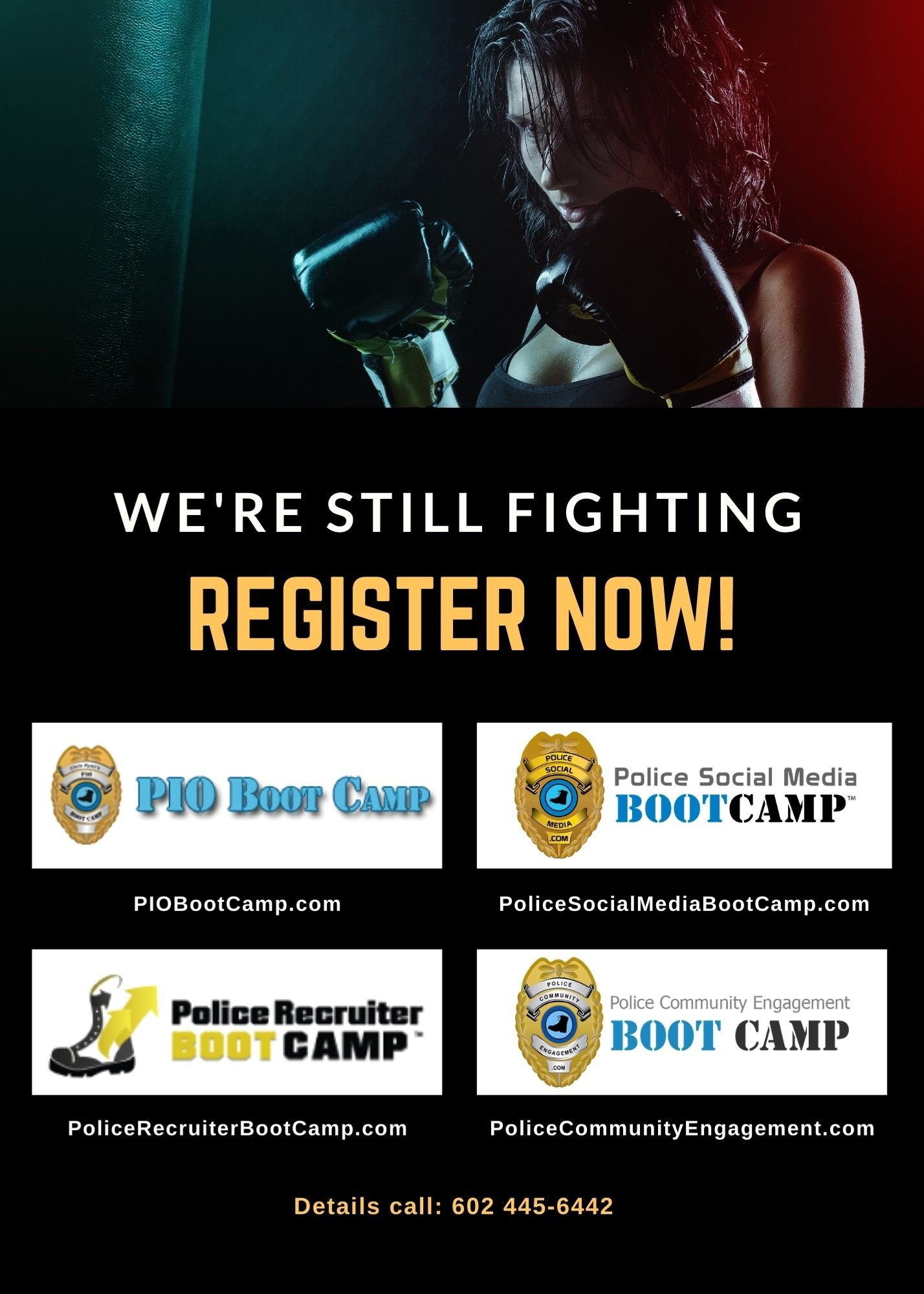 We're Still Fighting - PIO Boot Camp